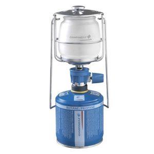 este o lanterna foarte eficienta, simpla ce functioneaza cu butelii cu valva Campingaz® cu ajutorul conexiunii Easy Clic® Plus.