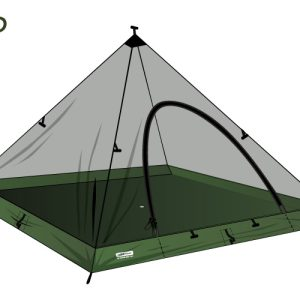 Cort DD SuperLight - Pyramid-panza anti insecte