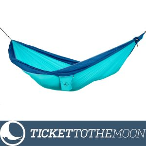 Hamac Ticket to the Moon Original Turquoise-Royal Blue