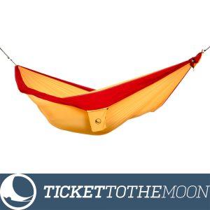 Hamac Ticket to the Moon Original Dark Yellow-Burgundy