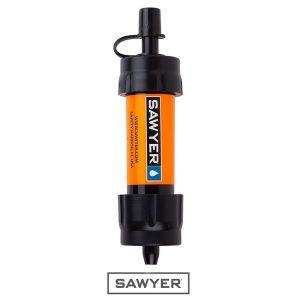 Filtru de apa outdoor Sawyer Mini – portocaliu