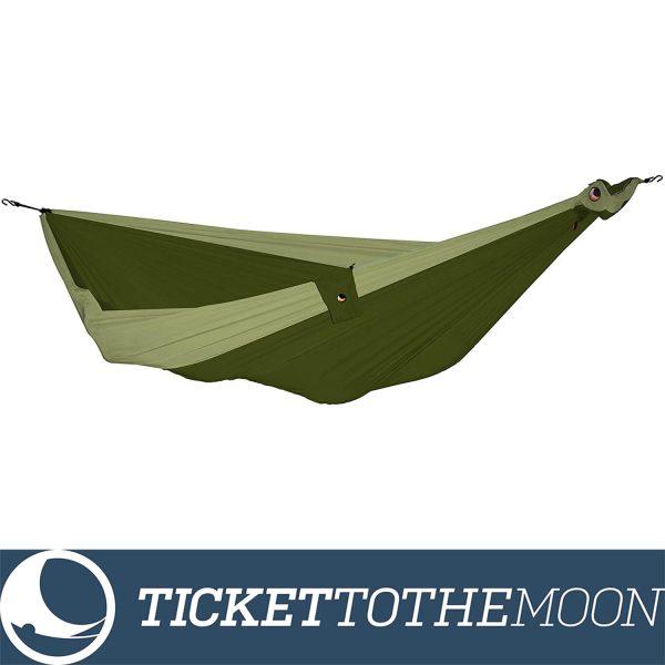 Hamac Ticket to the Moon Single Army Green - Kaki